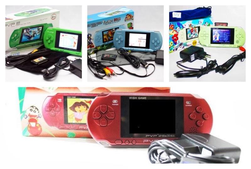 Mainan Game Pocket Slim Berisi bermacam-macam PerMainan. Dengan Layar