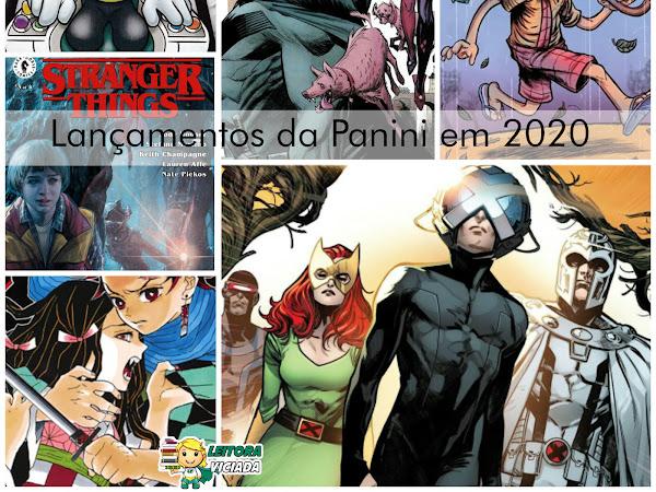 Lançamentos da Panini para 2020
