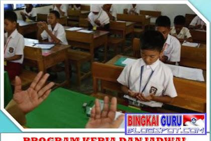 Download Program Kerja dan Jadwal Kegiatan Pembiasaan Siswa di Sekolah Dasar Tahun Pelajaran 2019/2020