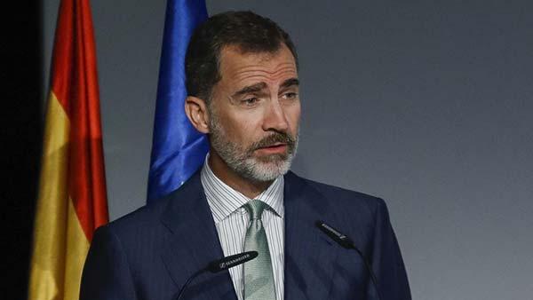 En directo mensaje Rey de España sobre Referéndum en Cataluña