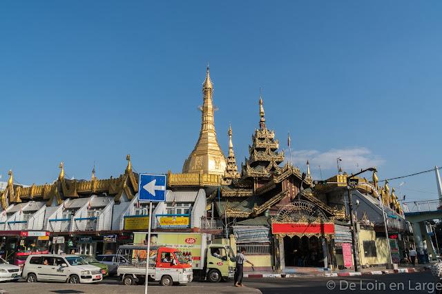 Pagode Sule-Yangon-Myanmar-Birmanie