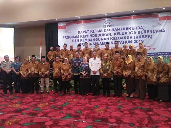 Pengukuhan Pengurus PWRI Unit BKKBN Lampung