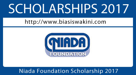Niada Foundation Scholarship 2017