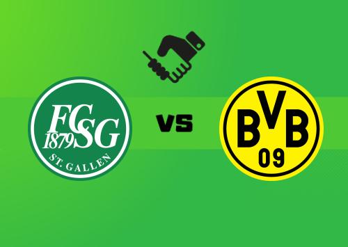St. Gallen vs Borussia Dortmund  Resumen y Partido Completo