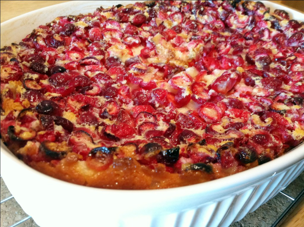 Cranberry Clafoutis Food Network