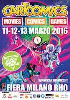 Cartoomics 2016 Milano: data inizio, ospiti e prezzo biglietti dell'evento sui fumetti