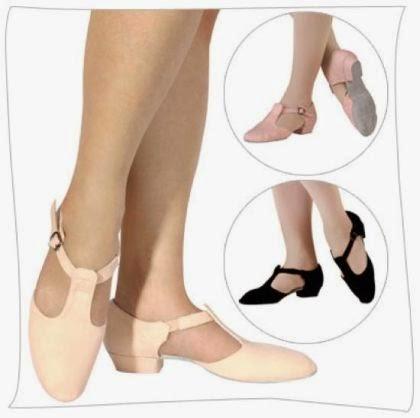 el calzado adecuado para bailar