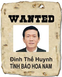 Đinh Thế Huynh, một tình báo Hoa Nam đã bị lộ
