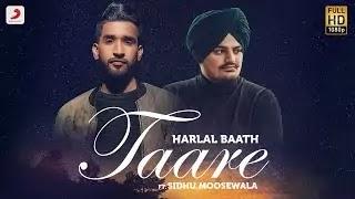 Taare Lyrics Harlal Batth Sidhu Moosewala
