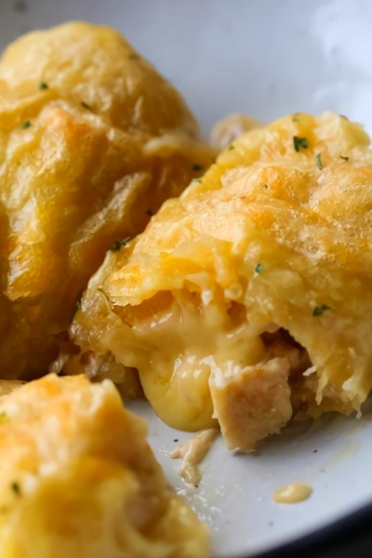 Cheesy Chicken Crescent Bake