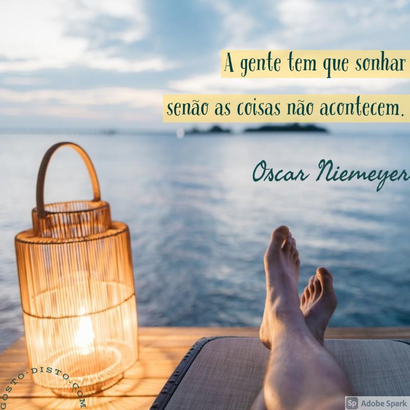 Frase de Oscar Niemeyer