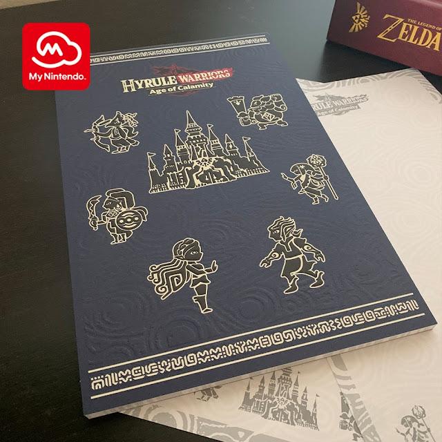 My Nintendo da América do Norte adiciona bloco de notas de Hyrule Warriors: Age of Calamity (Switch) como recompensa