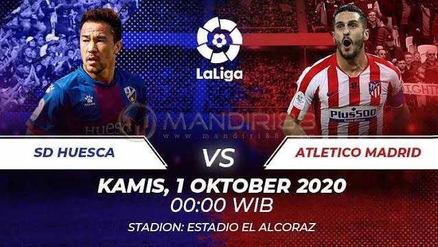 Prediksi SD Huesca Vs Atletico Madrid, Kamis 01 Oktober 2020 Pukul 00.00 WIB