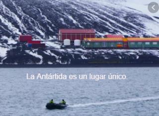 La Antártida es un lugar único.