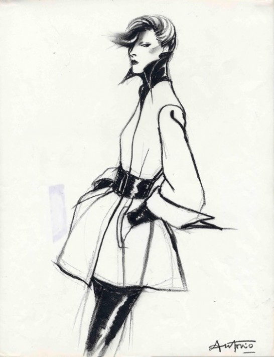 Tranny Trend.: Antonio Lopez- Fashion Illustration