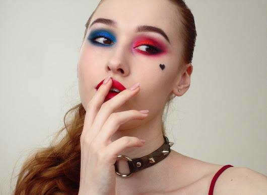 harley quinn makeup - 530×388
