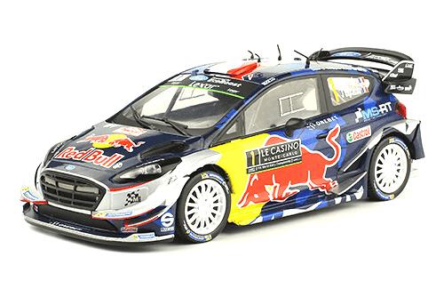 WRC collection 1:24 salvat españa, Ford Fiesta WRC, Sébastien Ogier, Montecarlo 2017