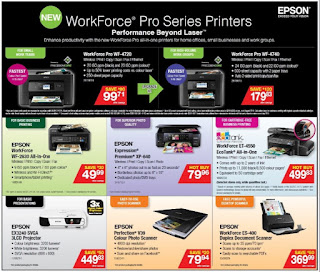 Staples Wireless Printers Flyer October 4 - 10, 2017