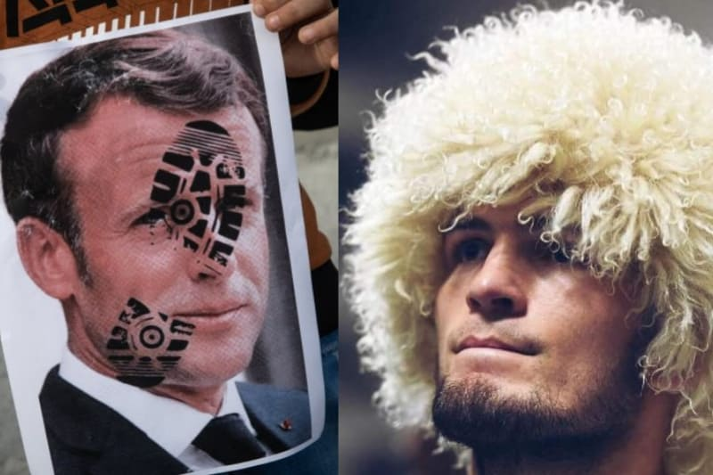 Khabib Murmagomedov Doakan Macron, Ini Isinya