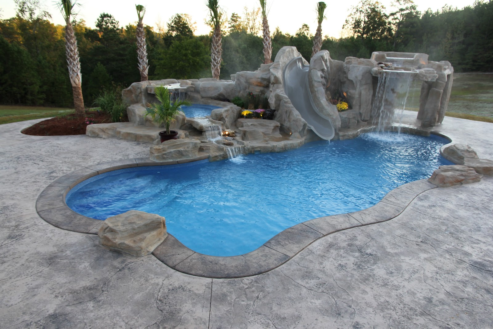 Fiberglass Pool Repair 21: Fiberglass Pool Grotto
