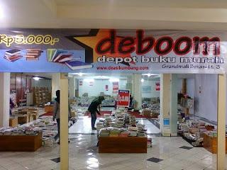 Toko buku bekas di kota Bekasi