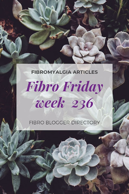 Fibromyalgia articles week 236