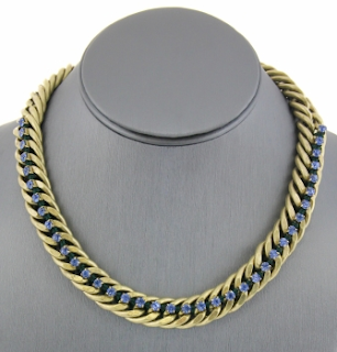 https://luxfashionsense.us/products/gold-chain-link-necklace-w-blue-rhinestone