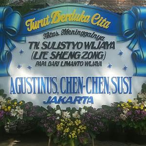 Bunga Papan Duka Cita Adi Jasa Surabaya