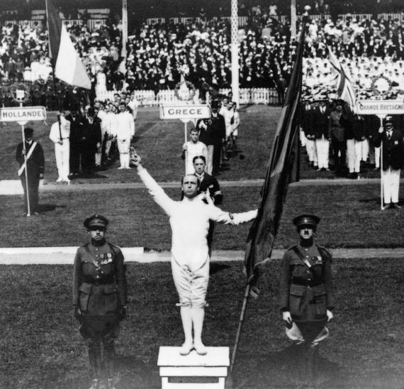 Jocs Olímpics Anvers 1920, Victor Boin