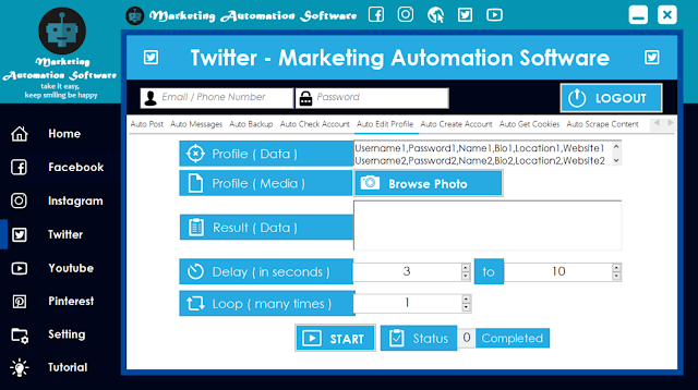 Cara Cepat Edit Data Twitter Secara Automatis