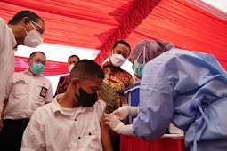 Andi Sudirman Genjot Upaya dan Prioritas Vaksinasi COVID-19 di Mamminasata