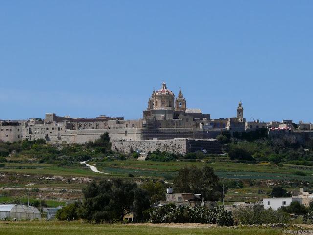 Mdina - miasto wcentralnej Malcie