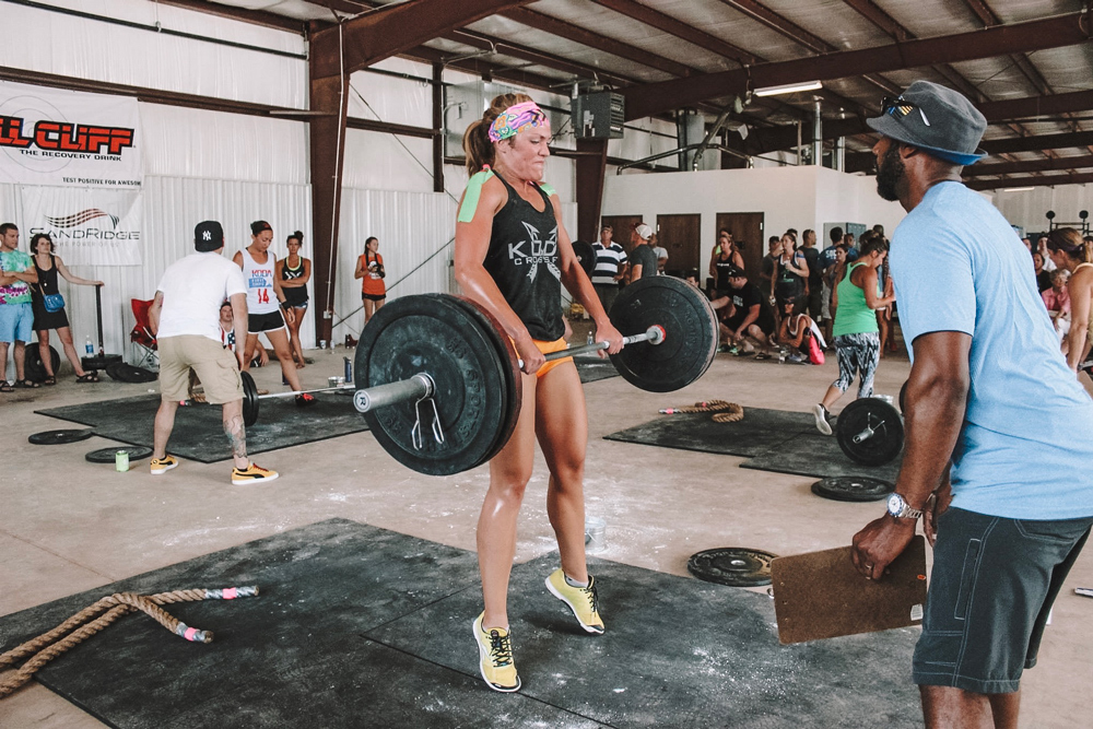 OKC blogger Amanda Martin works out at Koda Crossfit