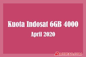 April 2020 Dial Terbaru Kuota Indosat 6GB 4000 1 Hari