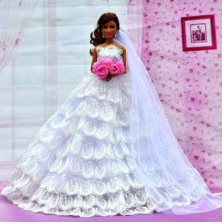 Gaun Pengantin Barbie Terindah