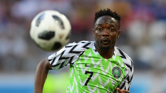 Nigeria vs Algeria: Ahmed Musa breaks silence after Super Eagles failed to qualify for AFCON final