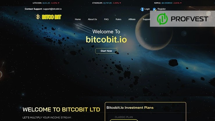 BitCoBit обзор и отзывы HYIP-проекта