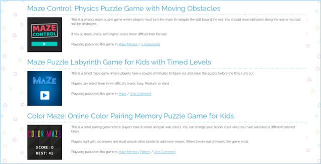 Plays.org, Game-Based Learning, Educational Games, Online Games
