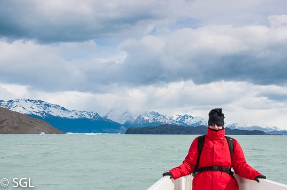 Calafate. Navegando entre glaciares. Argentina