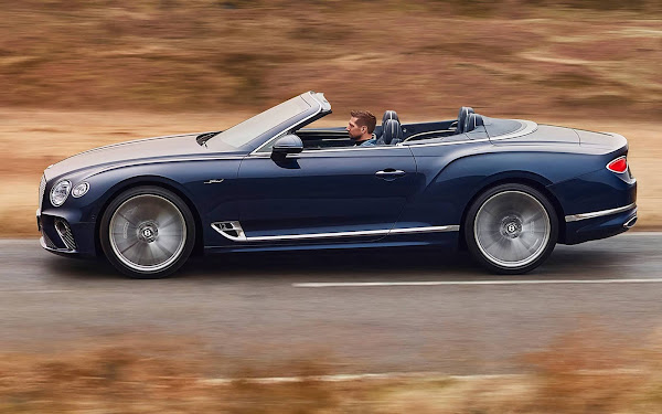 Bentley Continental GT Speed W12 6.0L ganha versão conversível - fotos