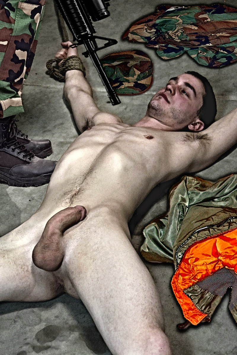 eagle Nude boy spread