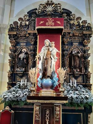 Virgen del Carmen, iglesia, Salinas