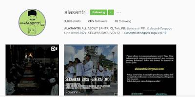 Jangan Ngaku Santri Kalau Belum Follow Instagram Ini. Dijamin Kenangan Kamu Pernah Nyantri Akan Terulang Kembali