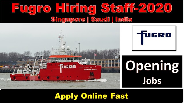 Fugro New Job Vacancies and Recruitment 2020
