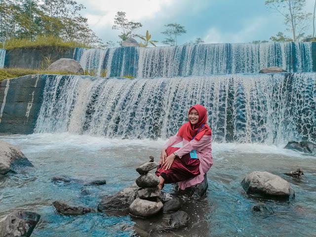 Grojogan Watu Purbo Bangunrejo Destinasi Wisata Alam Terbaru di Jogja