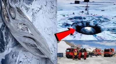 Avvistamento UFO in Antartide