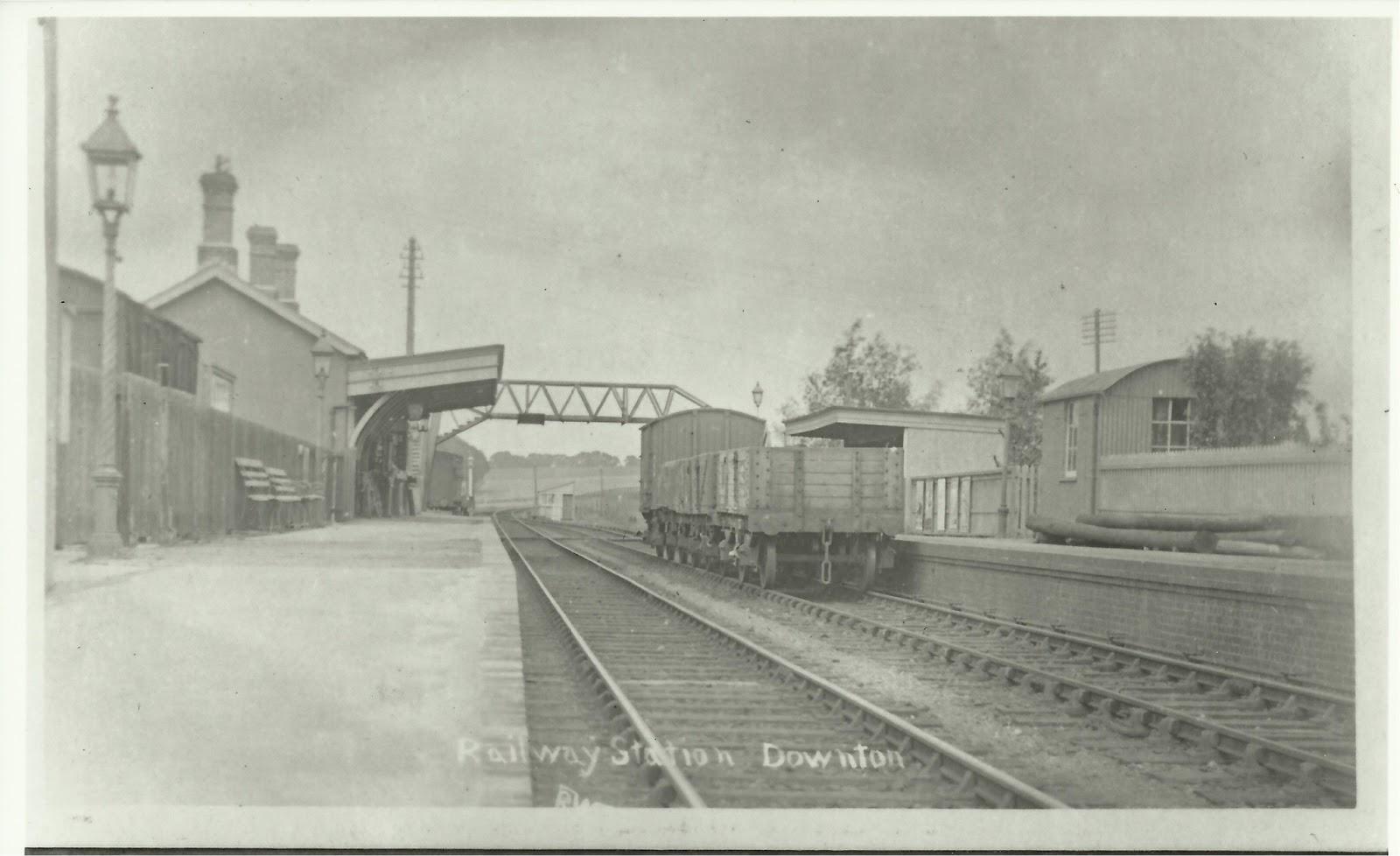 Fordingbridge Breamore Railway Station Photo West Moors Line. 1 Downton