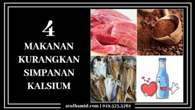 4 Makanan kurangkan Simpanan Kalsium dan 3 Tips Mengatasinya