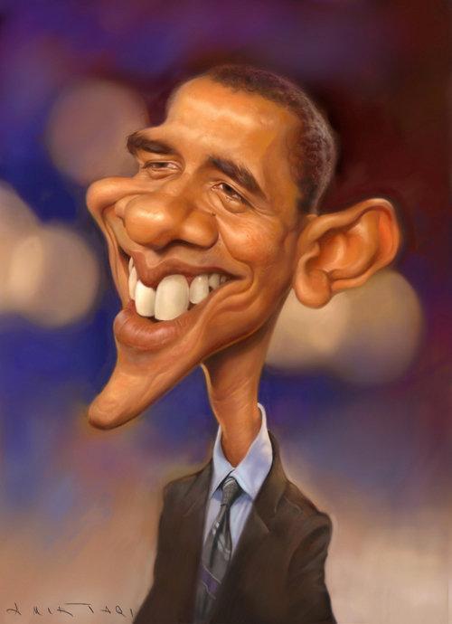 Barack Obama por Amir Taqi