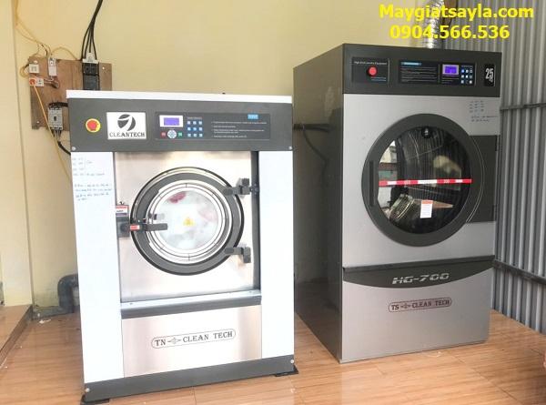 máy giặt công nghiệp Cleantech cho nhà máy